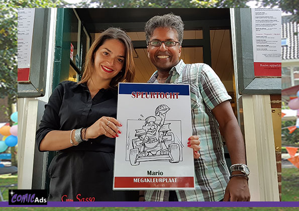 ComicAds speurtocht oud Rijswijk