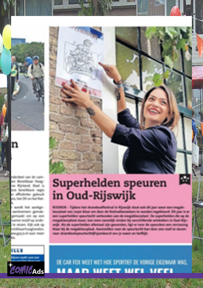 ComicAds speurtocht media