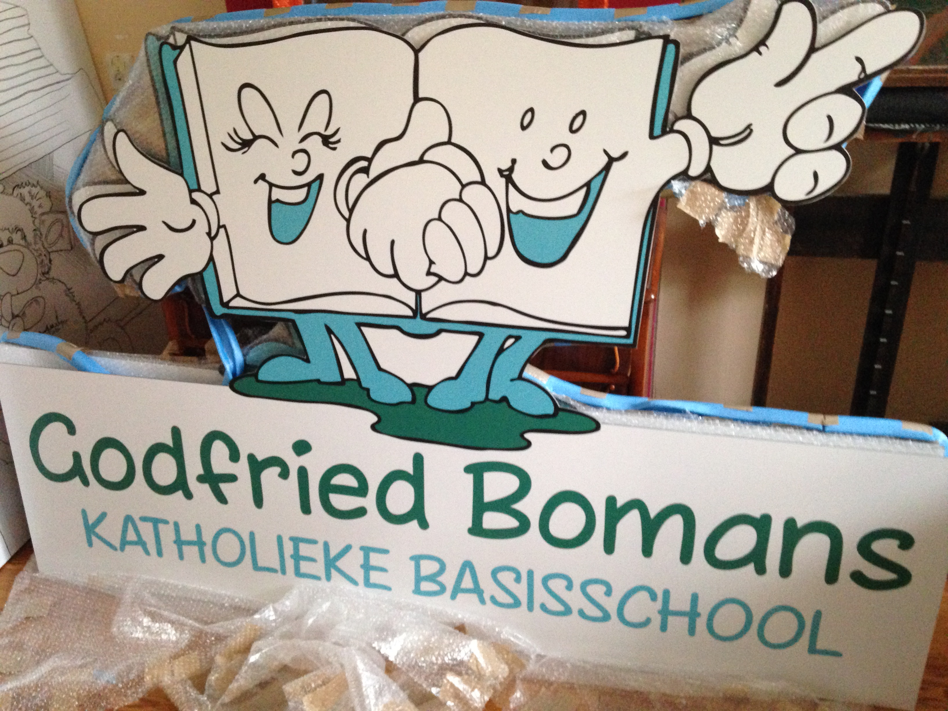 Logo Godfried Bomansschool
