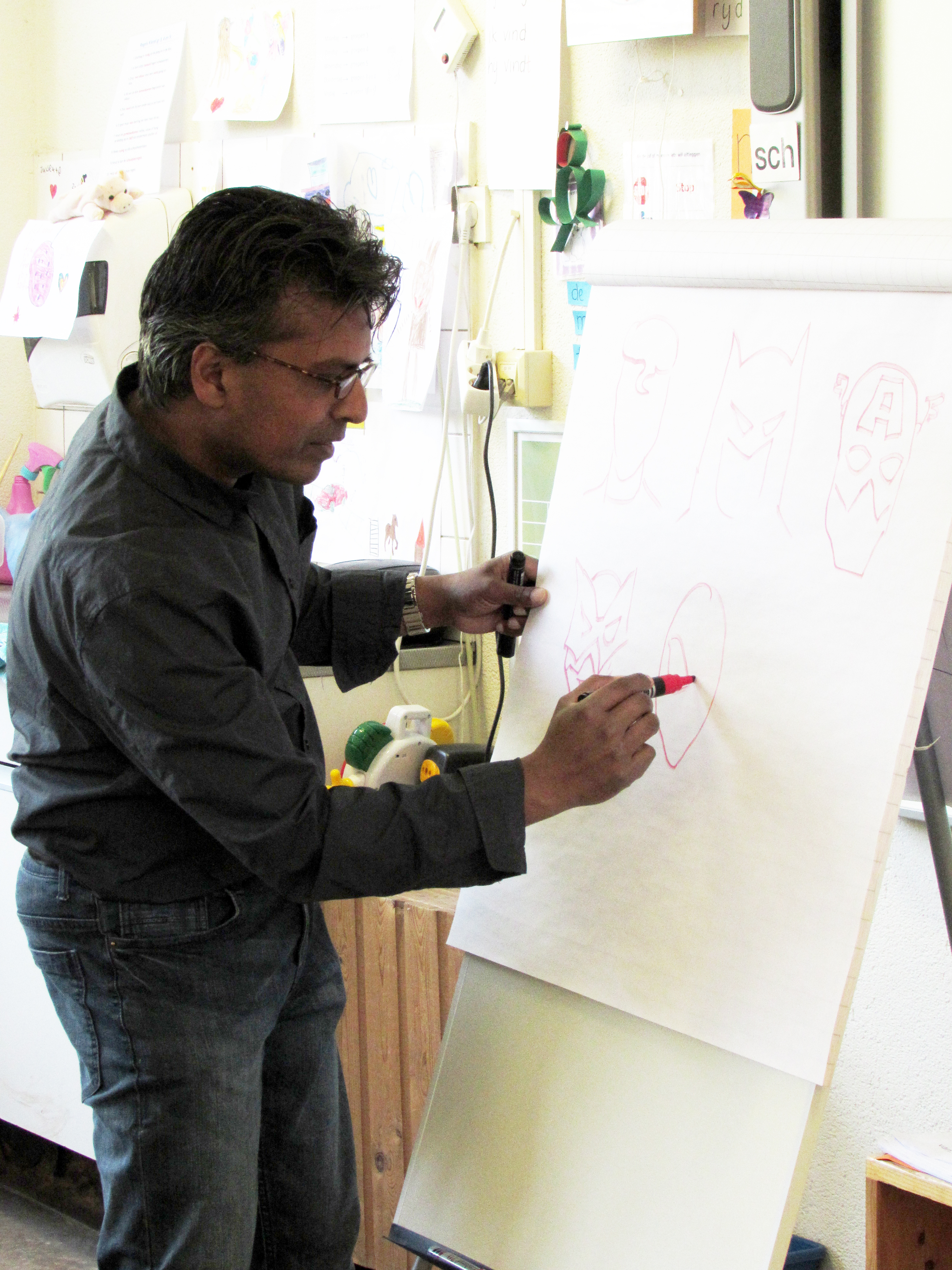 De tekenmeester