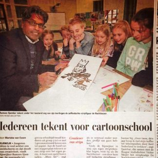 Workshops & stripcartoonteken cursus
